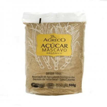 Açúcar Mascavo Orgânico Agreco 500gr