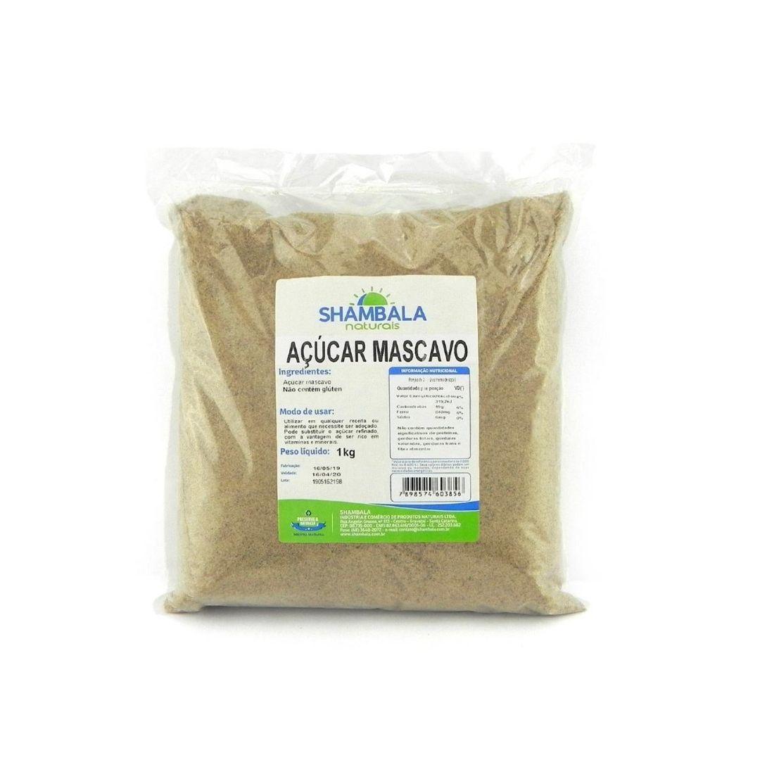 Açúcar Mascavo Shambala 1kg