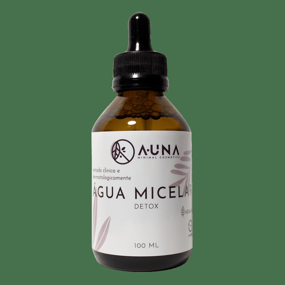 ÁGUA MICELAR A-UNA- Multifuncional Detox - 100ml