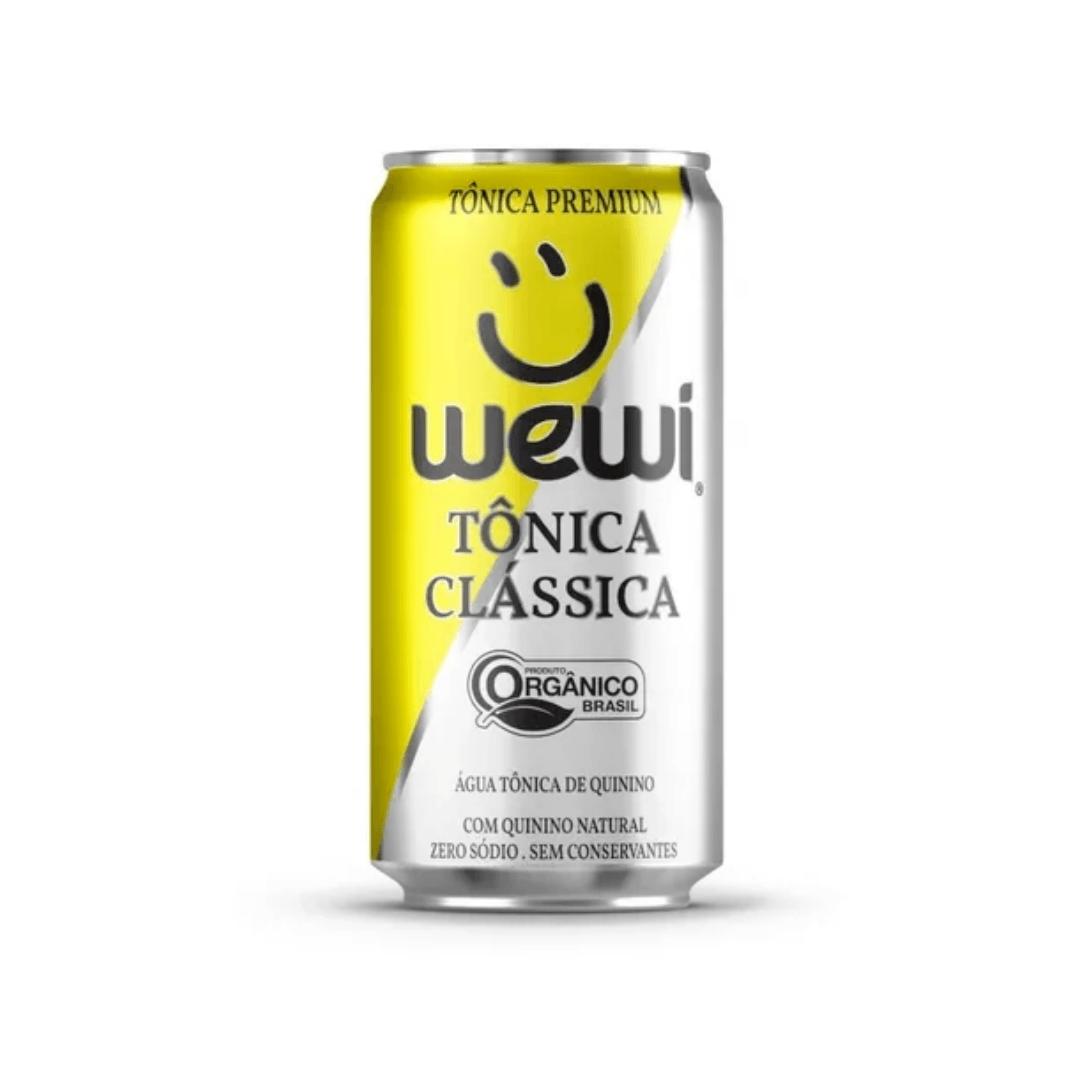 Agua Tonica Orgânica  Clássica S/ Conservantes Lata 269ml Wewi