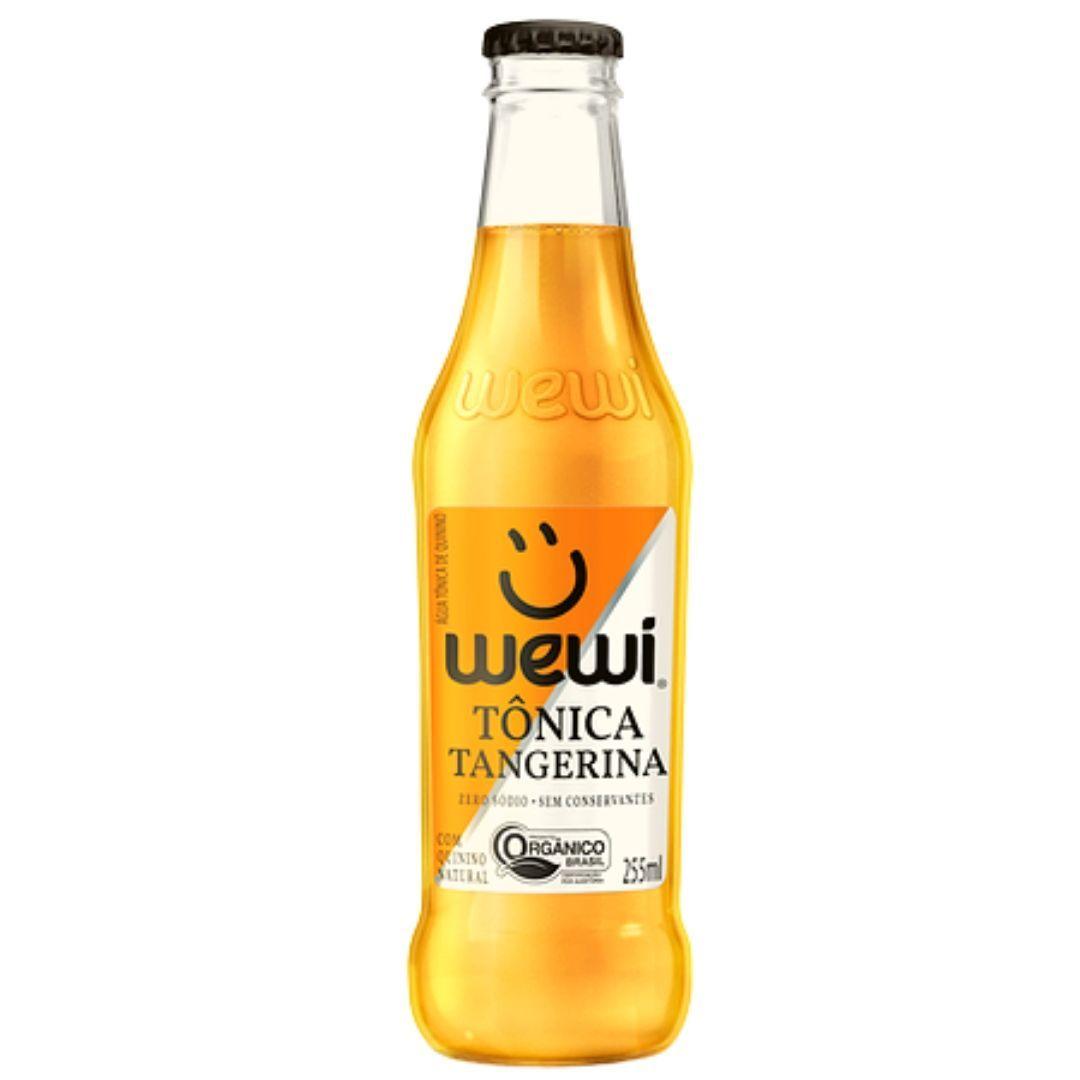 Água Tônica Orgânica Tangerina Wewi 100% Natural 255 ml