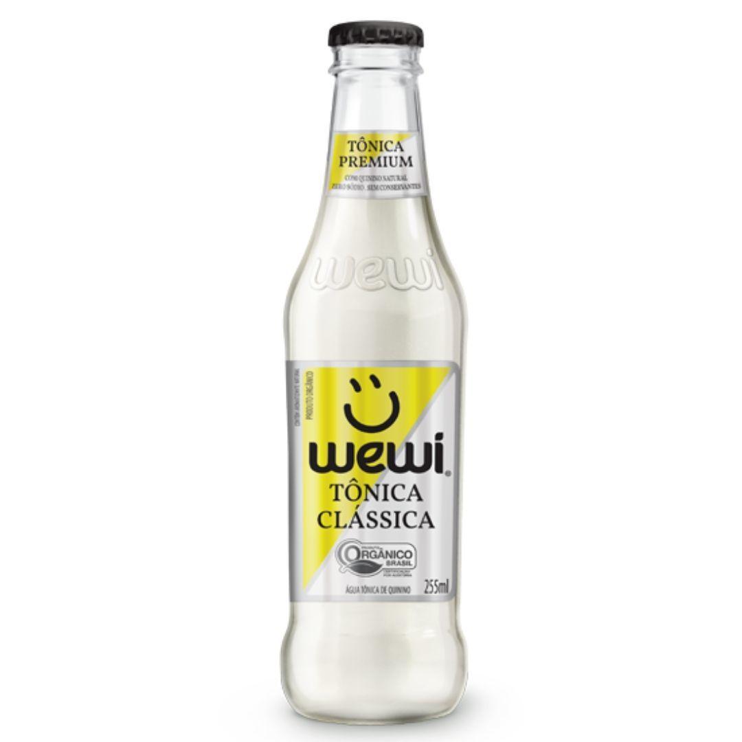 Água Tônica Orgânica Wewi 100% Natural 255 ml