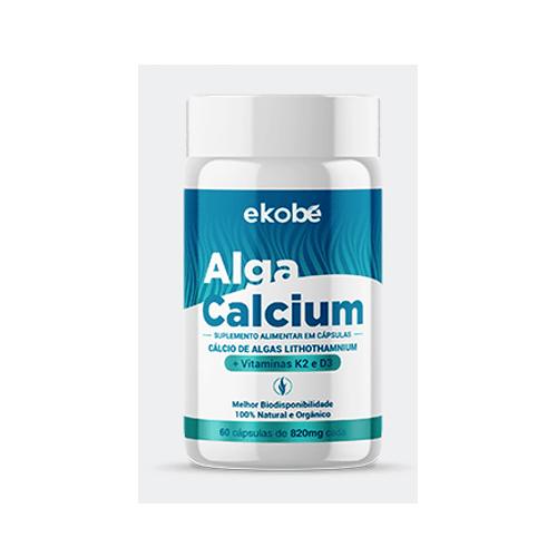 Alga Calcium - Ekobé 60 Cápsulas