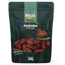 Amêndoa defumada Brasil Frutt 200g