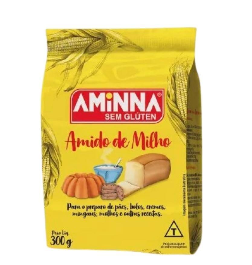 Amido de milho Aminna 300g