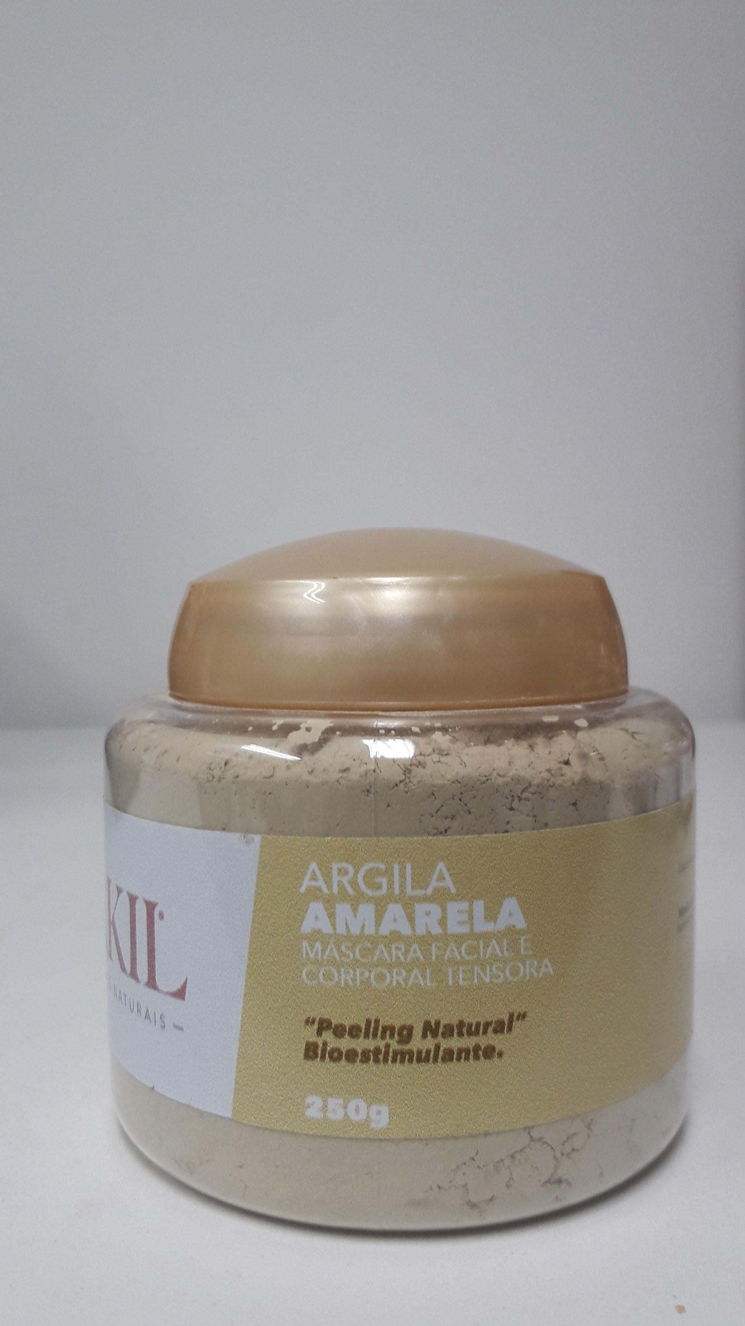 ARGILA AMARELA 250 G POTE
