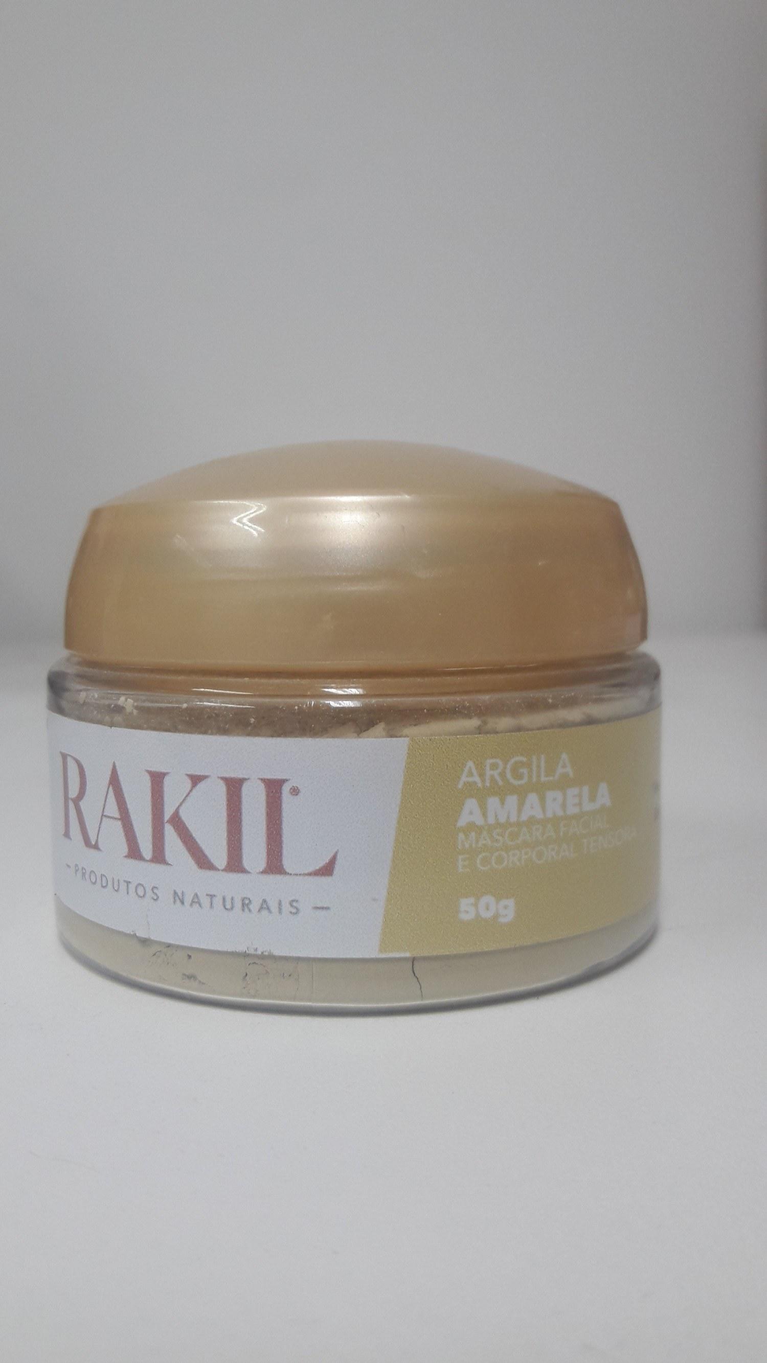 ARGILA AMARELA 50 G POTE