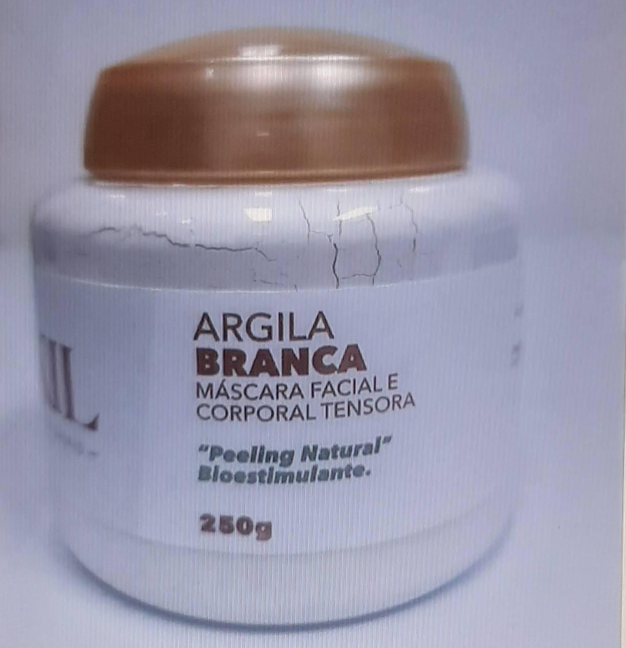 ARGILA BRANCA 250 G POTE