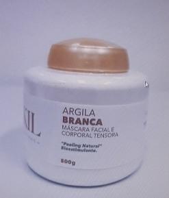 ARGILA BRANCA 500 G POTE