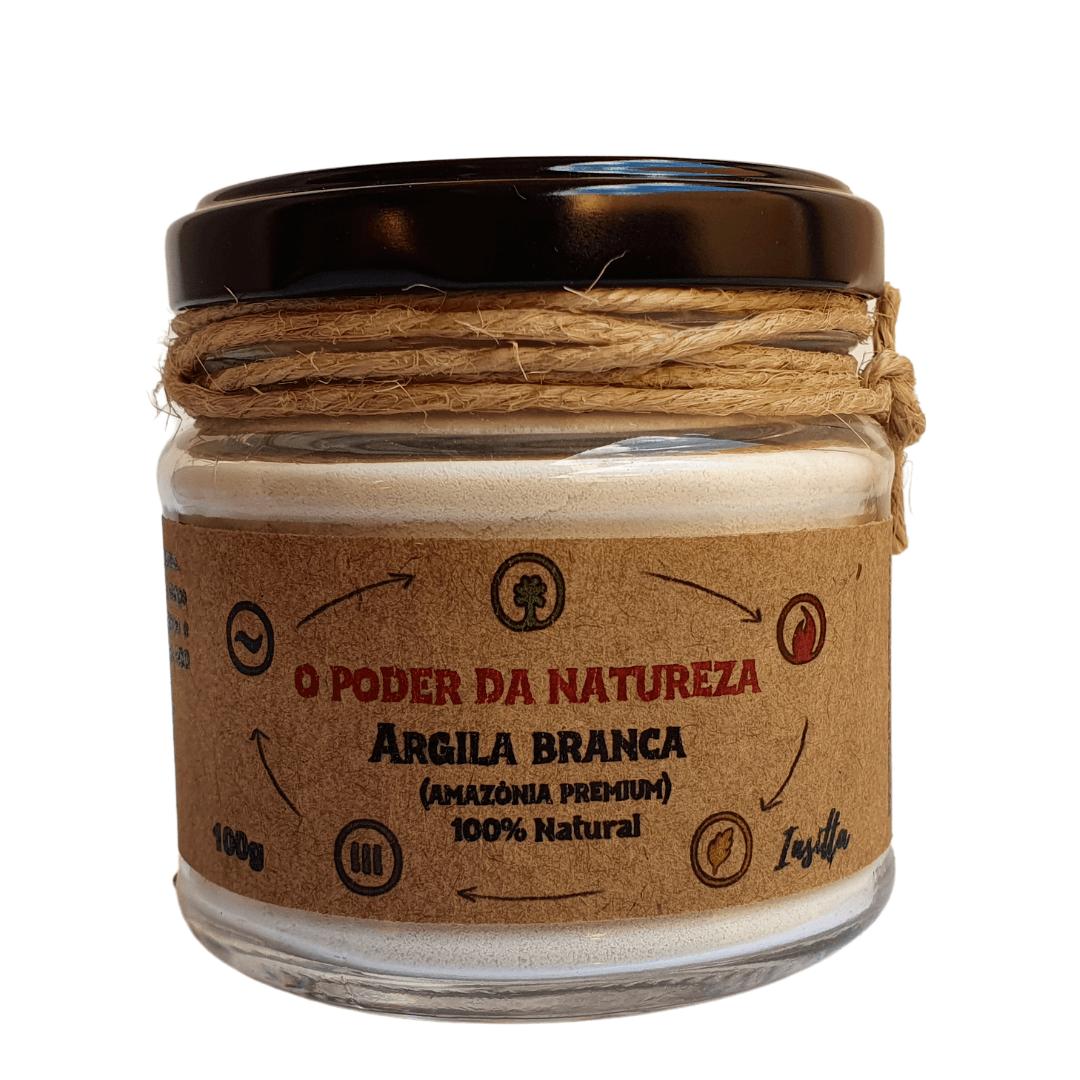 Argila Branca Premium da Amazônia 100% Natural Insitta