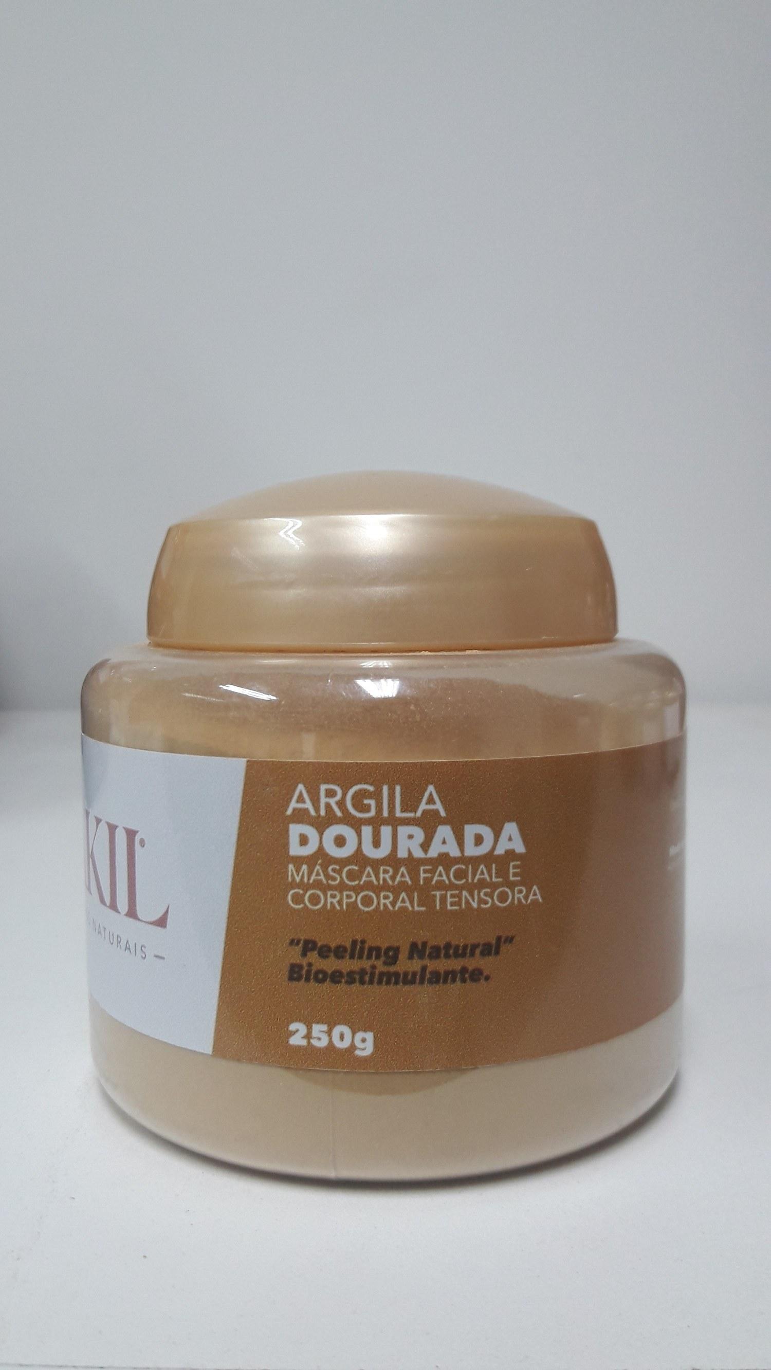 ARGILA DOURADA 250 G POTE