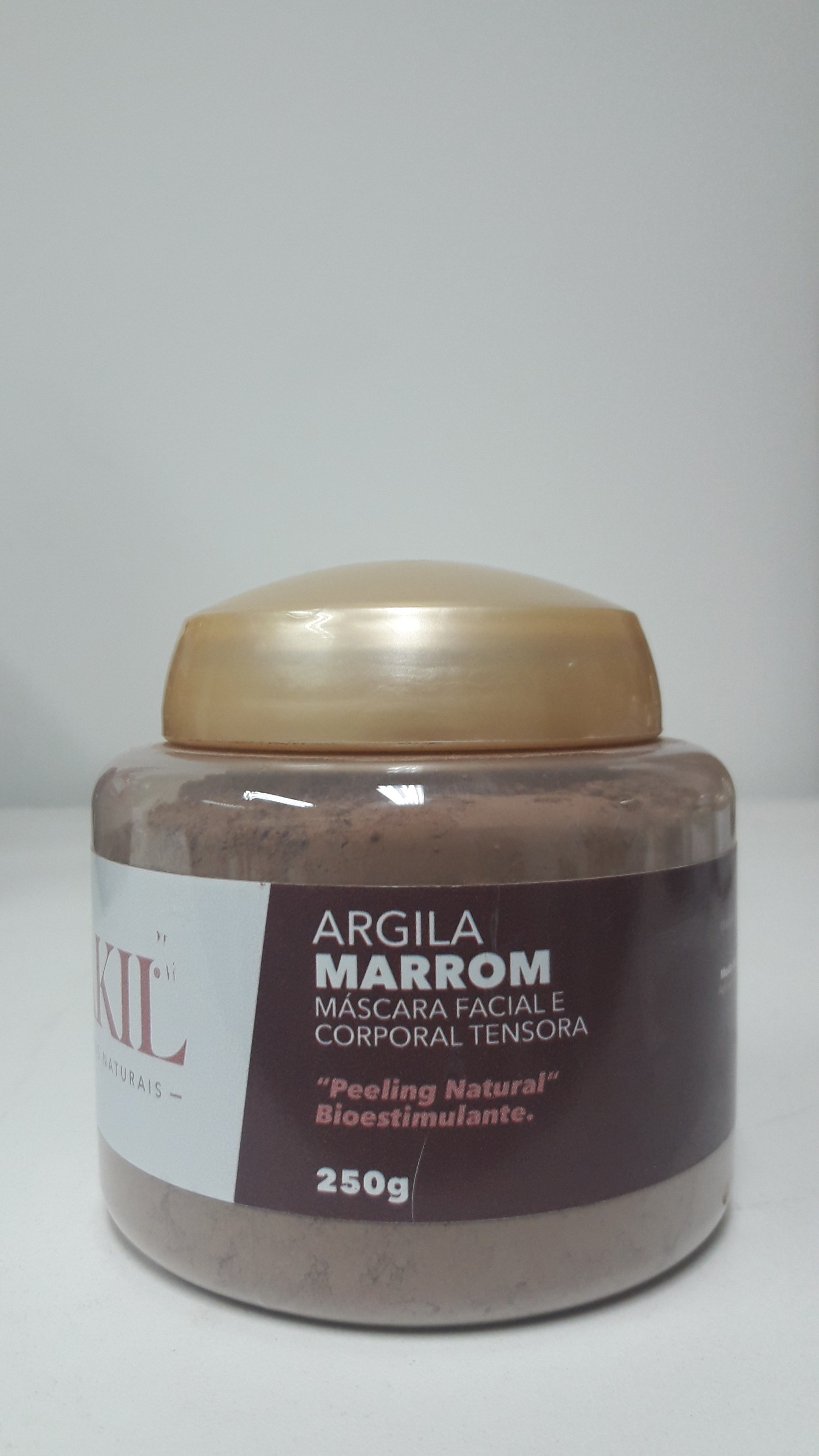 ARGILA MARROM 250 G POTE