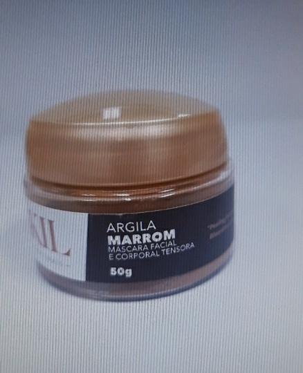 ARGILA MARROM 50 G POTE