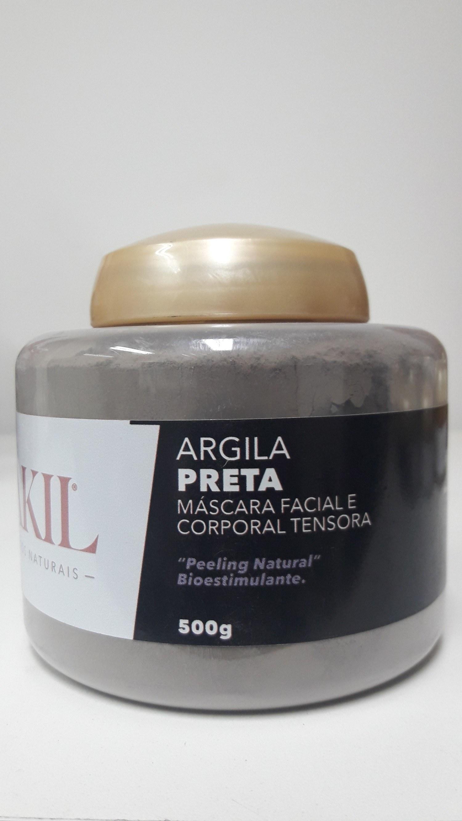 ARGILA PRETA 500 G POTE