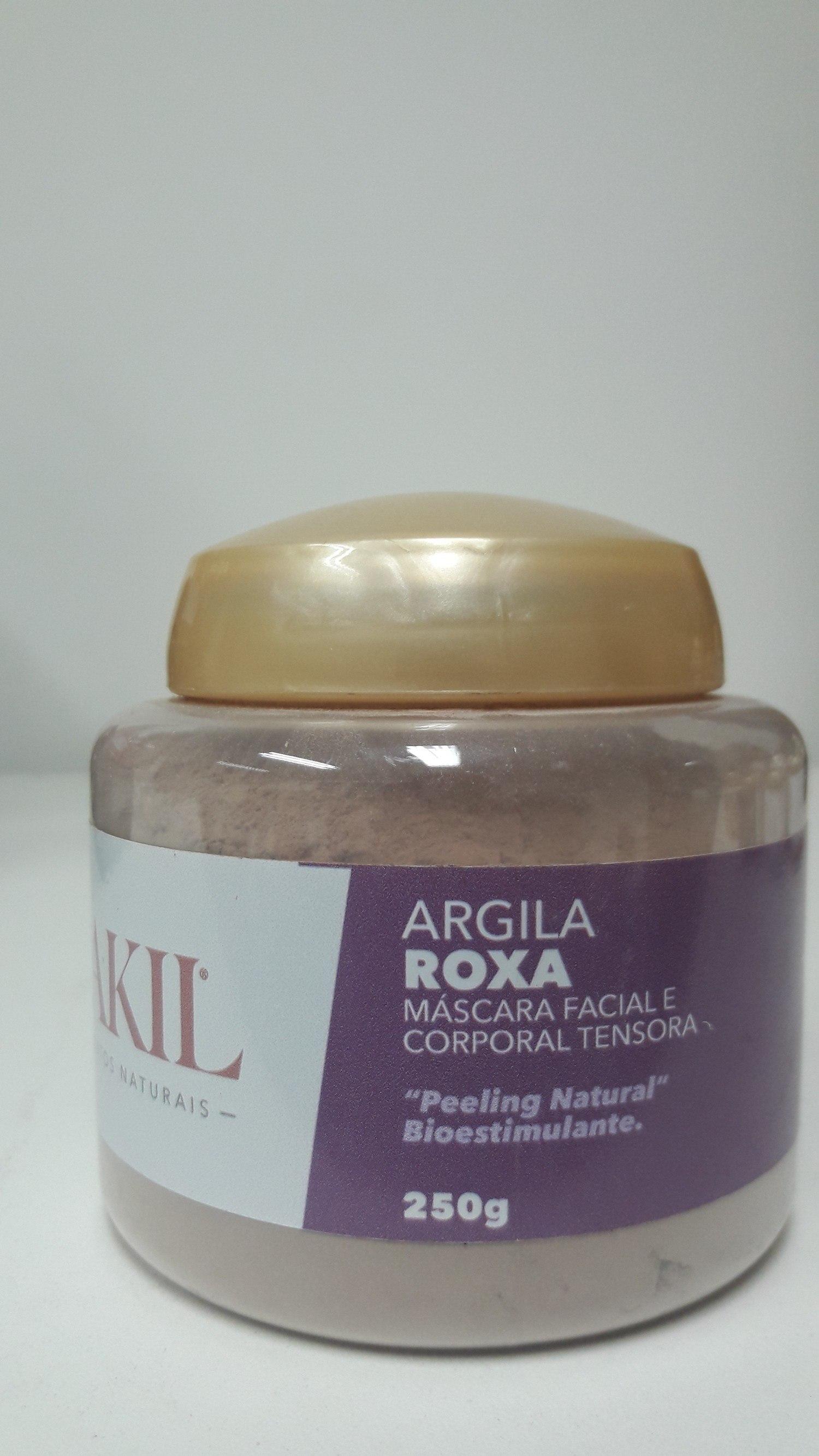 ARGILA ROXA 250 G POTE