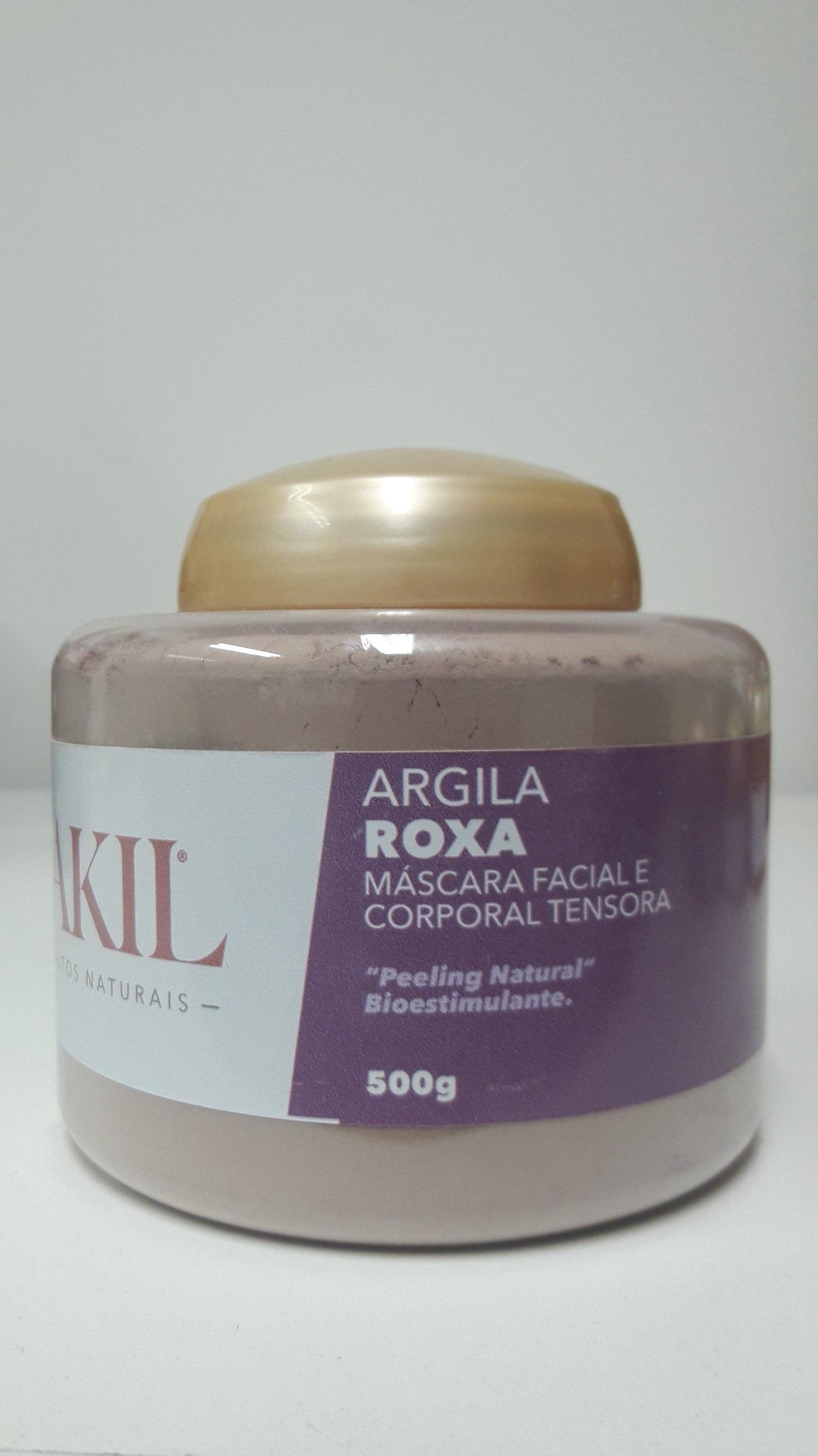 ARGILA ROXA 500 G POTE