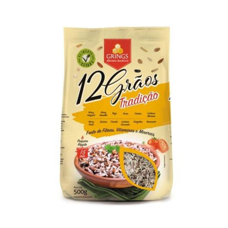Arroz Vegano 12 Grãos Tradição Nobres Cereais Grings 500g