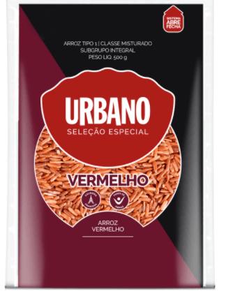 Arroz vermelho integral Urbano 500g