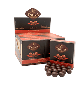 Avelã drageada ao chocolate Tnuva 50g