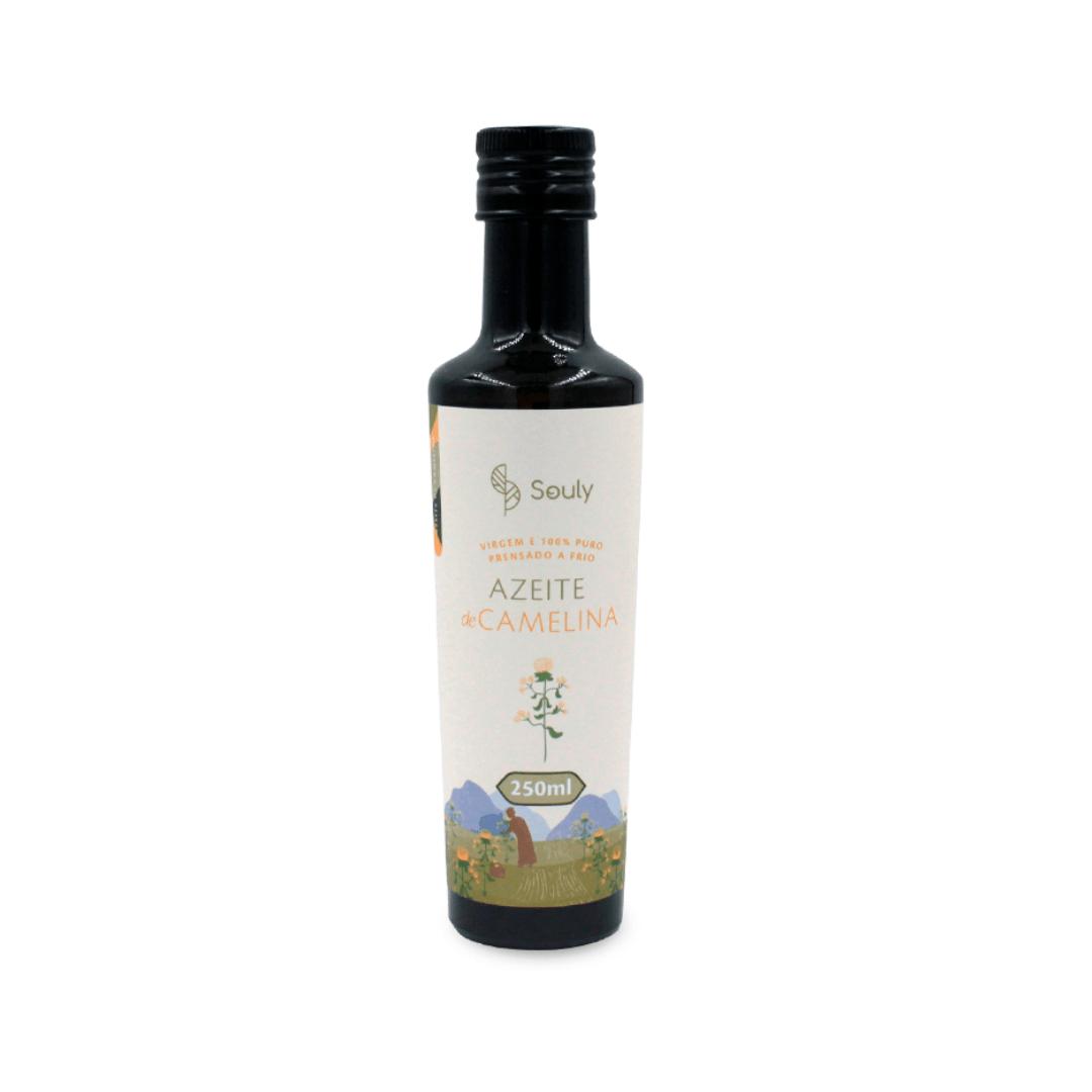 Azeite de Camelina Virgem - Souly 250ml