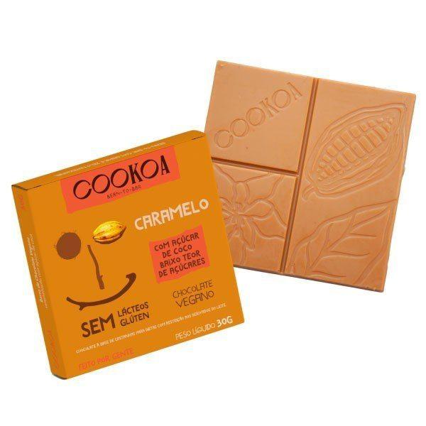Barra de Chocolate Caramelo - Cookoa 30g