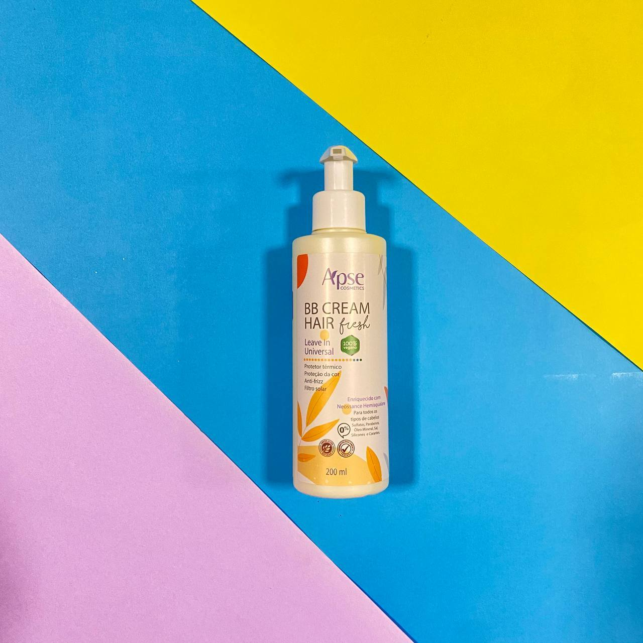 BB Cream Hair Fresh- Leave in Universal - Apse Cosmetics 200ml