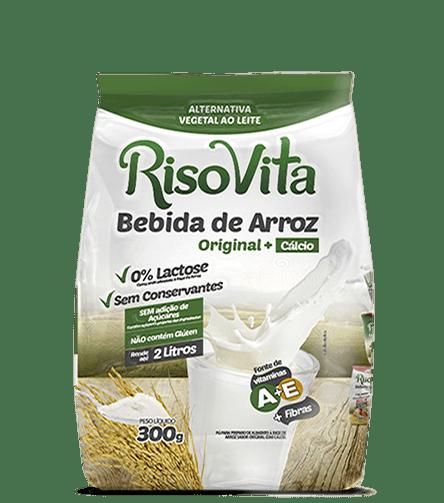 Bebida de Arroz em Pó Original  RisoVita 300g