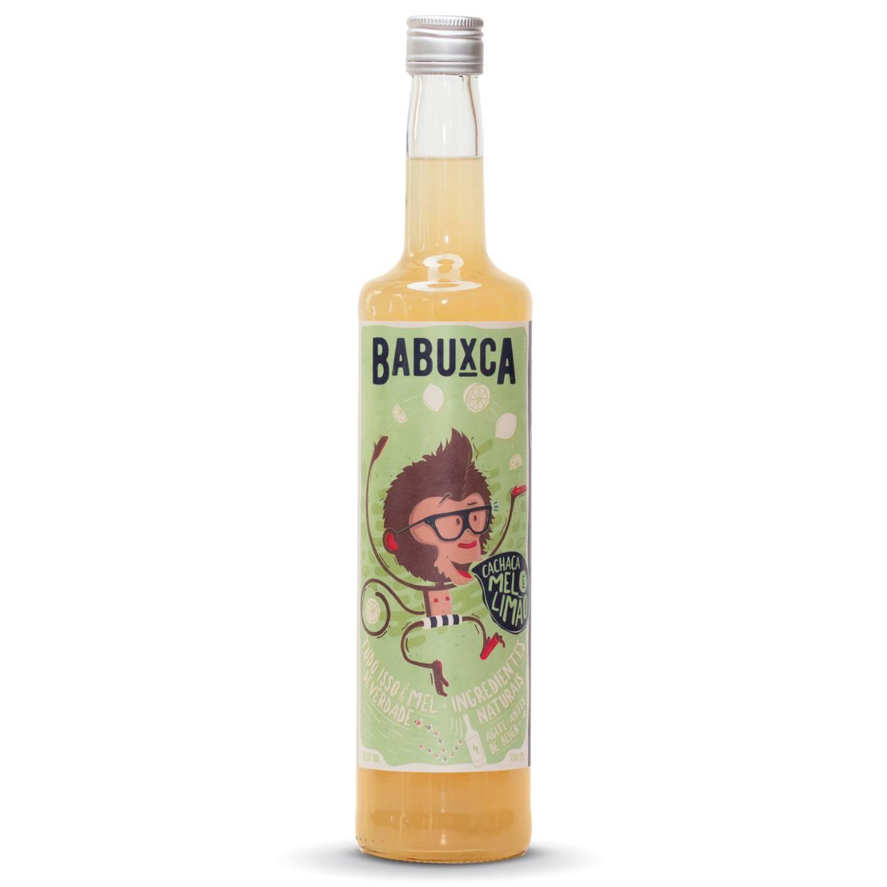 Bebida Mista à Base de Cachaça sabor Limão - Babuxca 700ml
