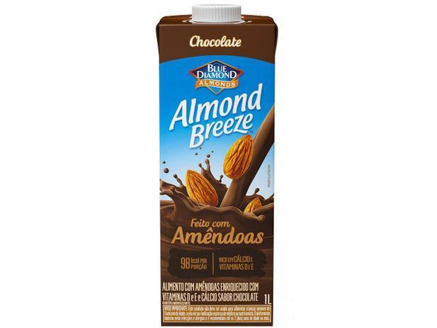 Bebida Vegetal de Amêndoas Chocolate Blue Diamond 1L
