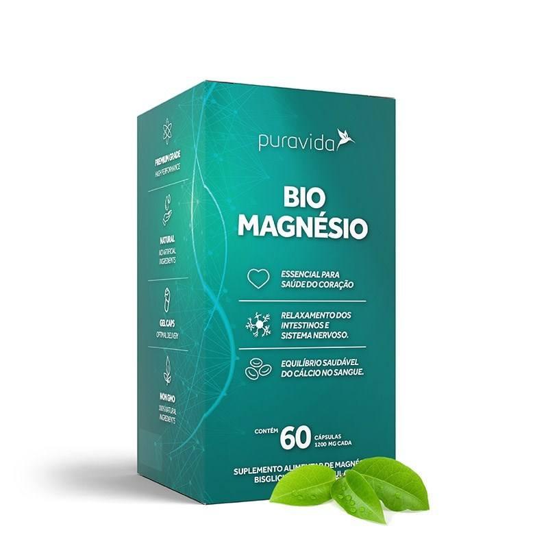 Bio Magnesio Puravida 60 caps