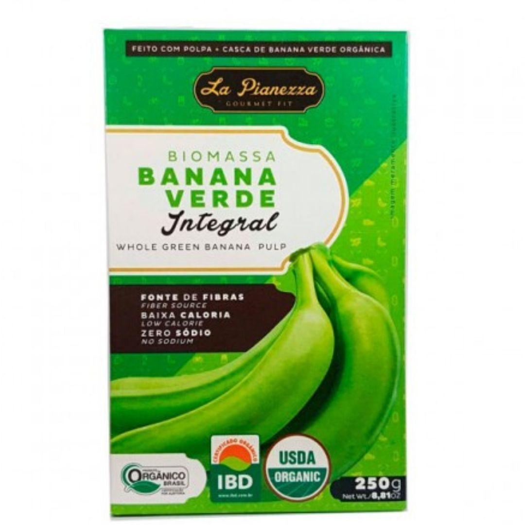 Biomassa de Banana Verde Integral La Pianezza 250g