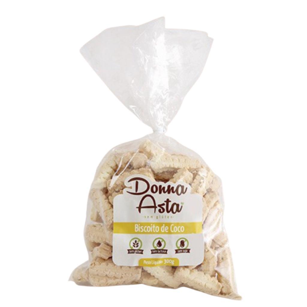 Biscoito de coco Donna Asta 250g