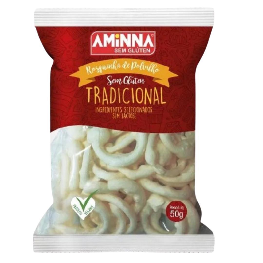 Biscoito de polvilho Aminna 50g