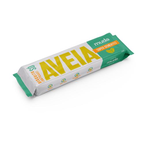 Biscoito SÓ de aveia- sabor Super Sementes