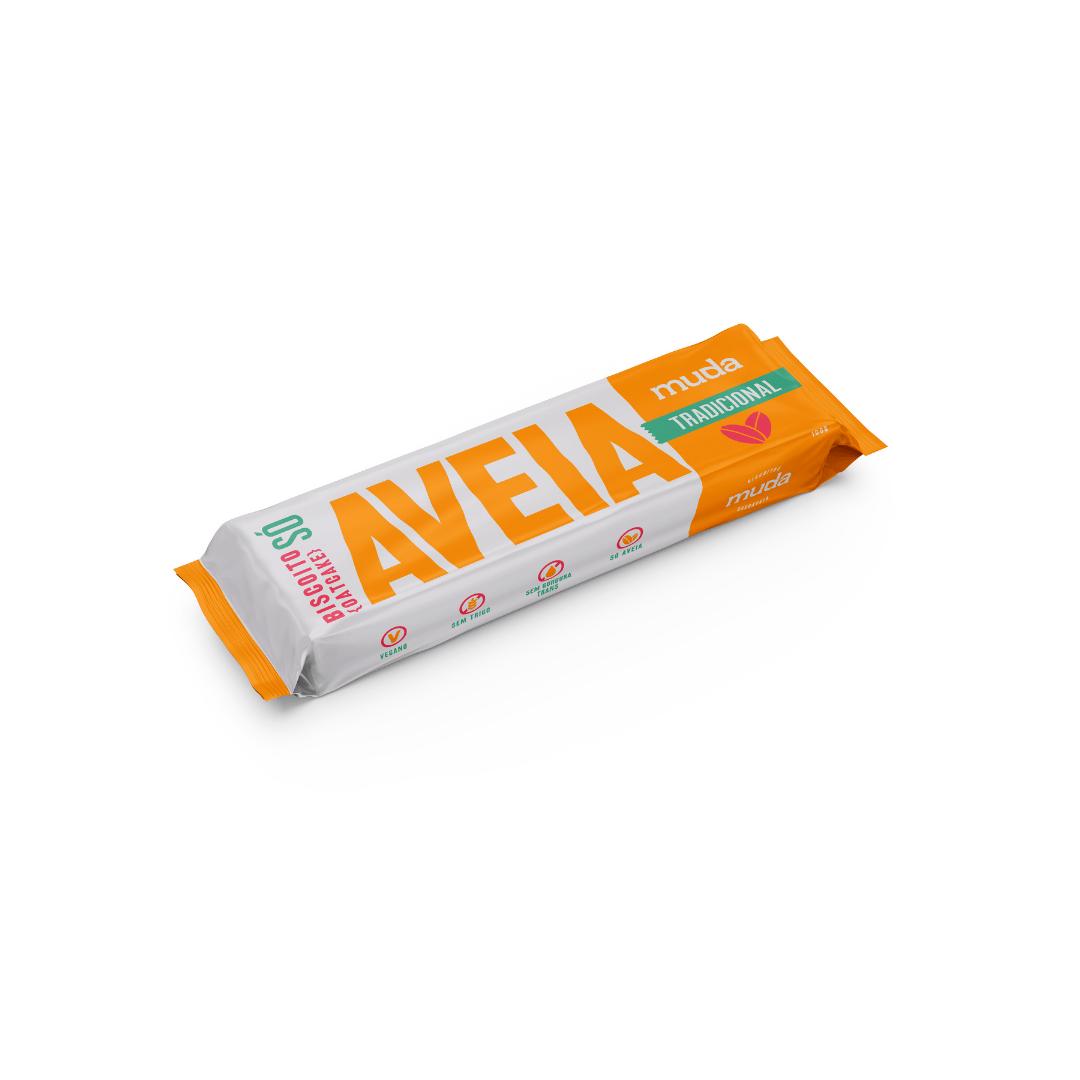 Biscoito SÓ de aveia- sabor Tradicional