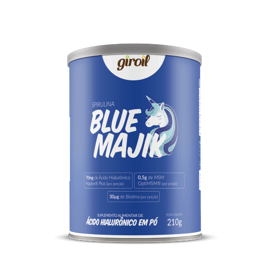 Blue Majik Giroil (Suplemento de Ácido Hialurônico e MSM) - 210g