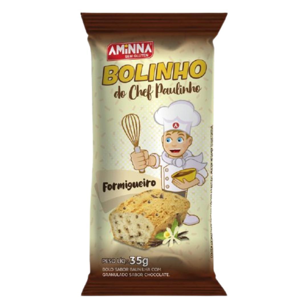 Bolinho do Chef Paulinho Formigueiro Aminna 35g