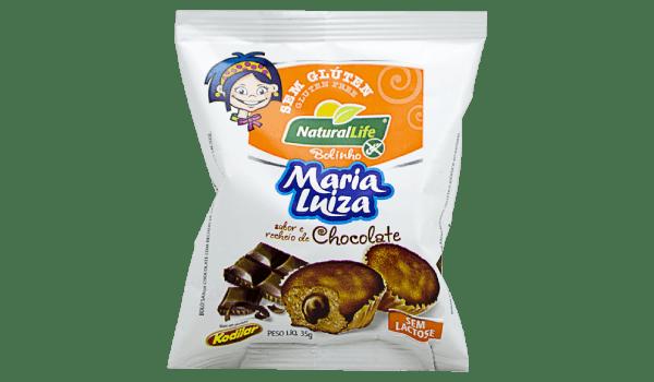 Bolinho Maria Luiza chocolate duplo Natural Life 35g
