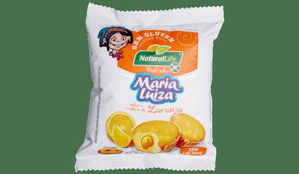 Bolinho Maria Luiza laranja duplo Natural Life 35g