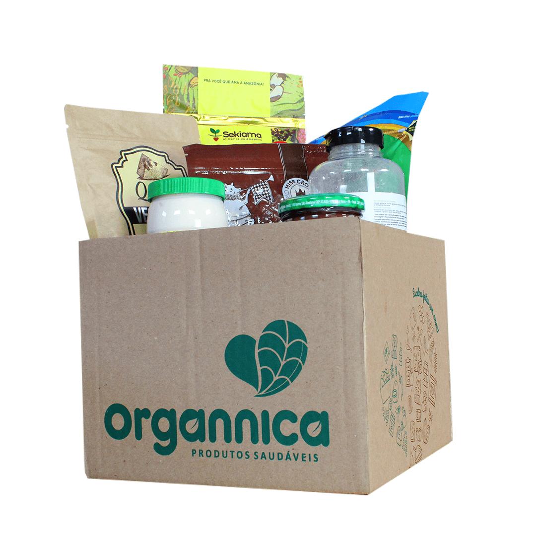 Box Saudável Vegano Organnica