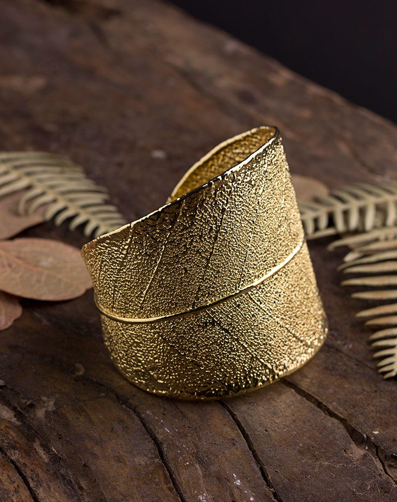 Bracelete Folha de Magnólia