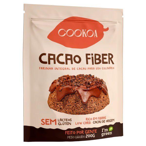 Cacao Fiber (Farinha de Cacau) - Cookoa 200g