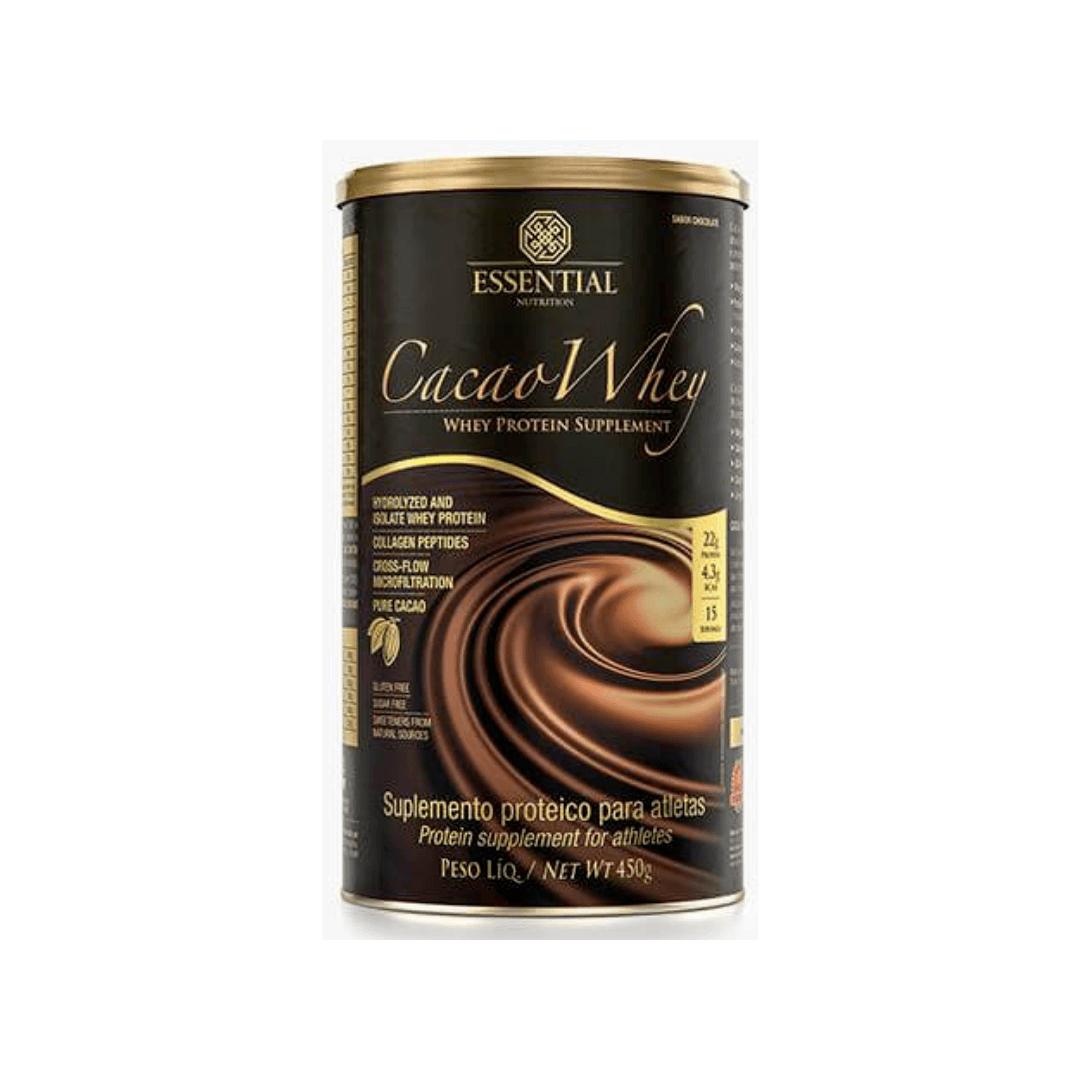 Cacao Whey   Lata  450g - Essential