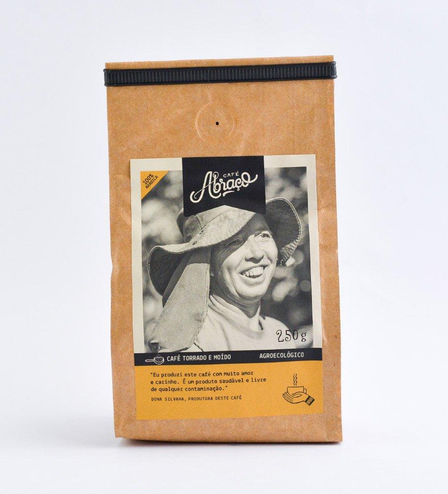Café agroecológico da Dona Silvana, levemente frutado com notas de mel e chocolate - Torrado e moído 250g