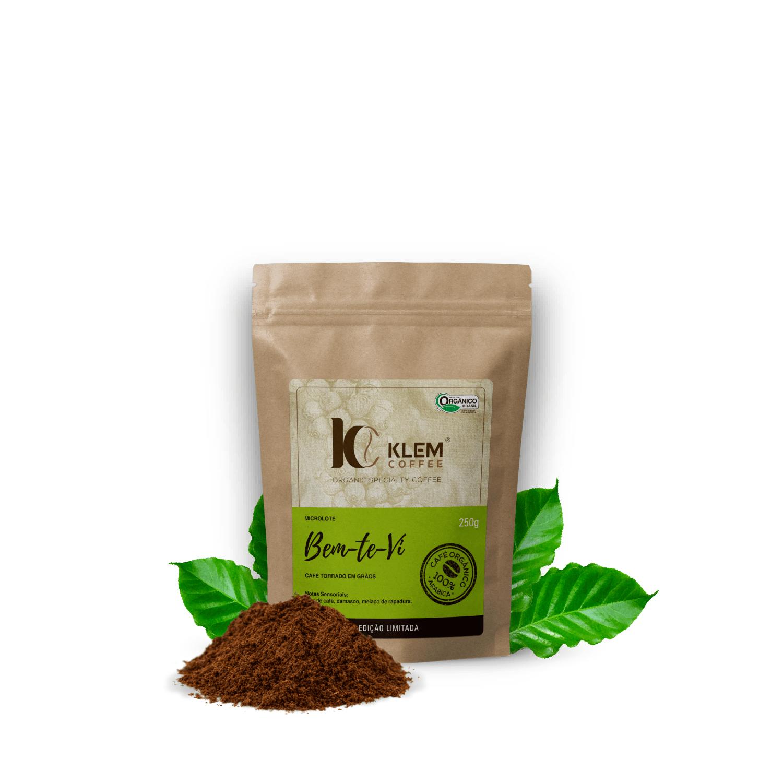 Café Orgânico Bem-Te-Vi Microlote Especial Moído - Klem Orgânicos 250g