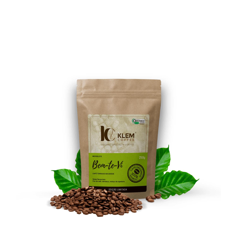 Café Orgânico Bem-Te-Vi Microlote Especial em Grãos - Klem Orgânicos 250g