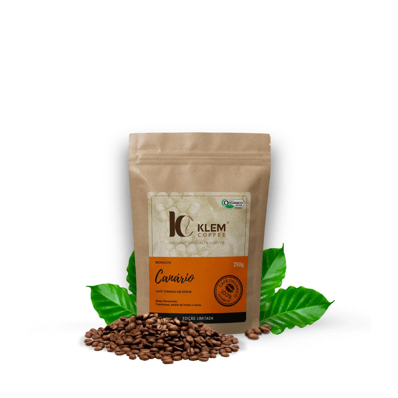Café Orgânico Canário Microlote Especial em Grãos - Klem Orgânicos 250g