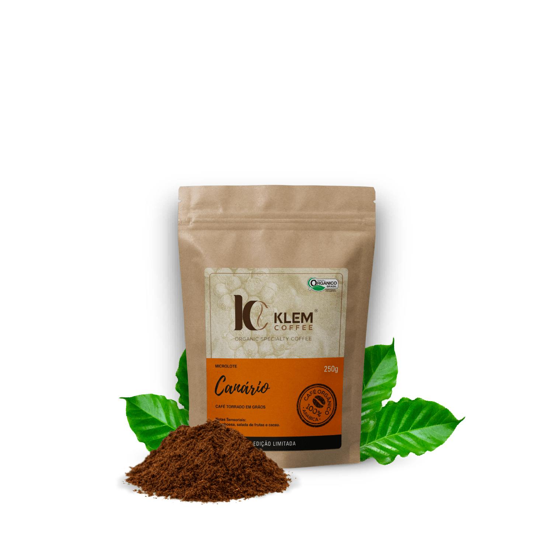 Café Orgânico Canário Microlote Especial Moído - Klem Orgânicos 250g