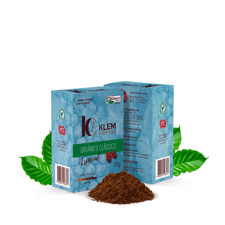 Café Orgânico Clássico Especial - Klem Orgânicos 250g