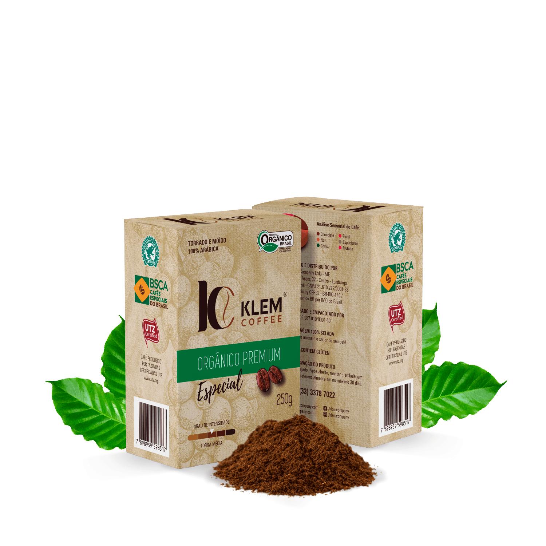 Café Orgânico Premium Especial - Klem Orgânicos 250g